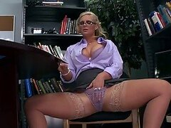Phoenix Marie Is a Librarian In Heat Eager For a Big Dick Fucking