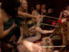 These girls gone crazy doing mad things in bondage sex video