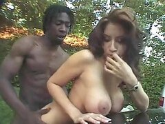 Angelica gets her pussy licked and fucked by black stud Byron Long