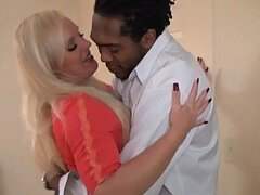 Sensual Milf Alexis Golden Strokes A Big Cock Before Interracial Sex