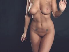Ballerina Leanna Decker shows perky tits