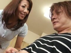 Lovely Mature Asian Babe Gets Fucked & Cum Covered