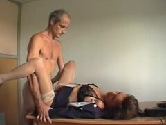 French mature couple casting amateurs