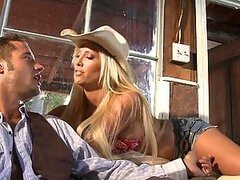 Farm Girl Tasha Reign Fucking and Riding a Hard Cock