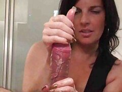 Her handjob skills make him cum