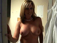 Voyeur Blonde MILF Jodi West Gets Fucked and Jizzed On Her Round Ass